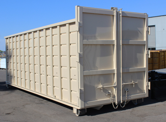 Rectangular Roll Off Container Hambicki S Truck