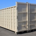 50YD Rectangular Roll-Off Rear View Double Doors