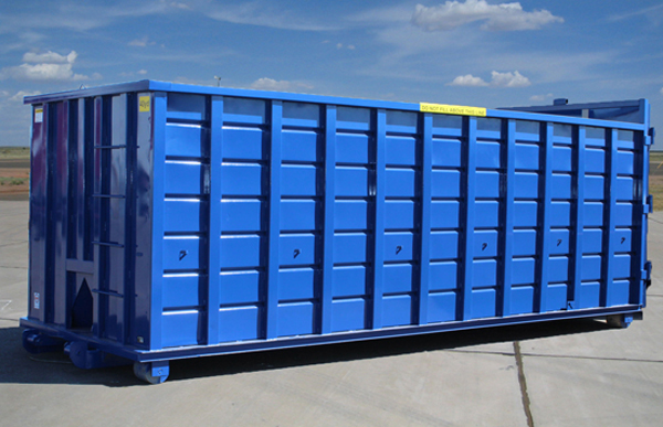 Rectangular Roll-Off Container