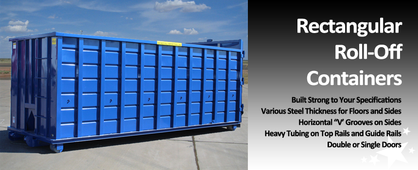 Hambicki's Rectangular Roll-Off Containers
