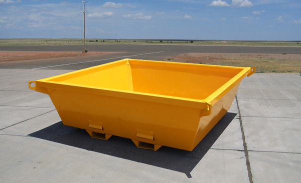 Nestable Concrete Washout Pan