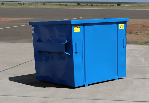 Nestable Flat Top Front Load Container Hambicki S Truck