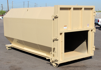 Solid Waste Compactor Receiver Box